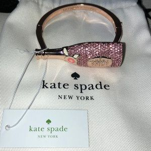 NWT-Kate spade toast of the town bottle bracelet